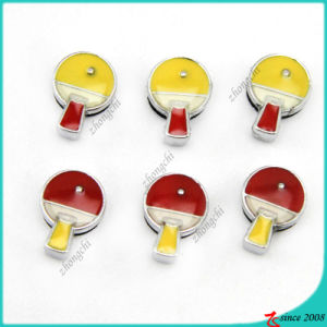Chines Table Tennis Slide Charms for Sports Jewelry (SC16040918)