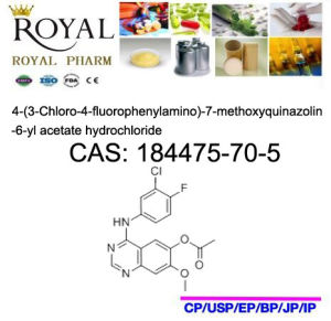 Good Quality, Low Price, Made in China, Gefitinib, CAS: 184475-70-5 pictures & photos