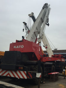 Used / Second-Hand Japanese Brand Kato Mobile Crane / off-Road Crane/ Truck Crane / 50tons