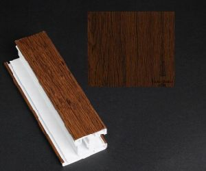 Anti-UV Wooden Grain Decorative/Laminating/ Wrapping PVC Film for U-PVC Profile pictures & photos