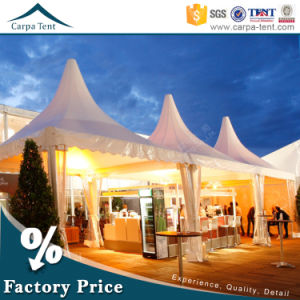 5X5m Luxury Wedding Gazebo Pagoda Tent for Events Sale in Guangzhou pictures & photos