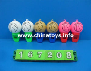 Plastic Basketball Whistle Toys for Game (167208_ pictures & photos