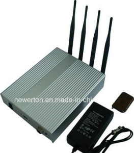 4-Channel Mobile Phone Signal Blocker Jammer with Remote Control pictures & photos