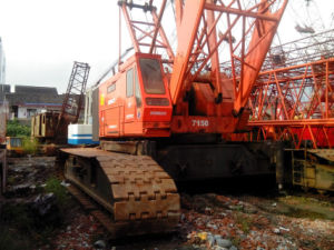 Second-Hand / Used Japanese Kobelco Hydraulic Crawler Crane Truck Crane/ Auto Crane 150tons (K07150)