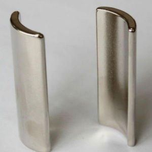 High Quality Specal Arc NdFeB Neodymium Permanent Magnet pictures & photos