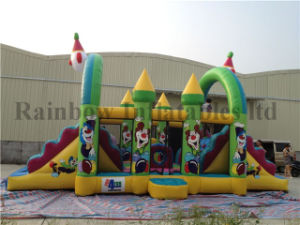 Hot Sale New Design Inflatable Clown Obstacle Course pictures & photos