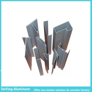 Thin Thickness Aluminum Profile with Silver Anodizing pictures & photos