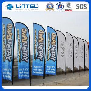 High Quality Beach Flag Banner New Flag Pole (LT-17C) pictures & photos