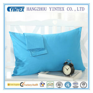 Plain Dyed Pillow Case for Hotel Hospital pictures & photos