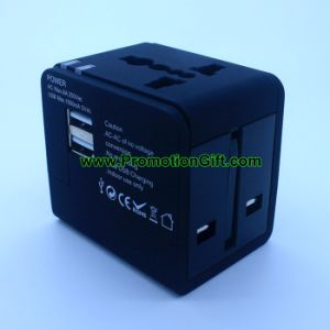 Universal USB Plug Travel Adapter pictures & photos