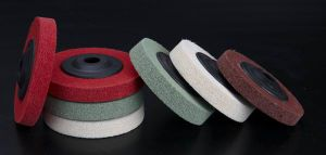 Non-Woven Scrubbing Wheel (FP73) pictures & photos