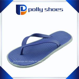 Lastest Beach Men Blue Slipper PE Flip Flop pictures & photos