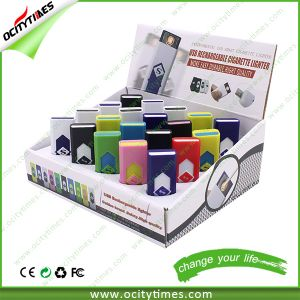 Ocitytimes Wholesale Cigarette USB Lighter/ USB Rechargeable Lighter pictures & photos