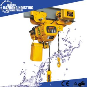 Huaxin 2ton 5meter Electric Construction Hoist for Crane pictures & photos