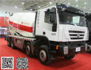 Genlyon 6X4 Concrete Mixer Truck for Russia pictures & photos