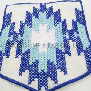 Factory Price Fashion Custom Thin Blue Line Embroidery Patch pictures & photos