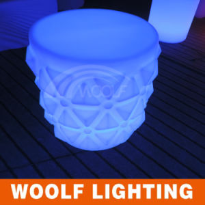 Rechargeable High Quality Mini LED Stool for Bar/LED Stool Lamp/Glow LED Illuminate Stool pictures & photos