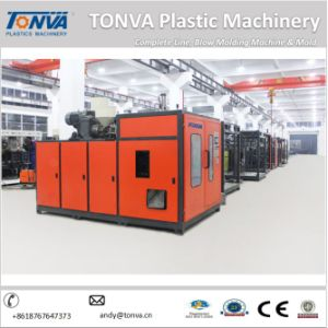Pneumatic Double Station 1L Plastic Extruder Blowing Machine for Pharmaceutical Bottle pictures & photos