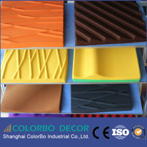 Building Material Interior Polyester Fiber Acoustic Panel pictures & photos
