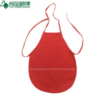 Personalized Red Poly Cotton Kids Apron Lovely Children Apron pictures & photos