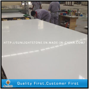 Artificial Crystals White Quartz for Countertops and Worktops pictures & photos