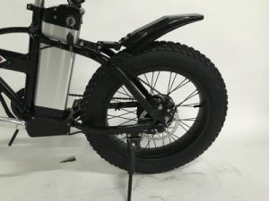 Folding Electric Fat Bike with 4.0 Tire pictures & photos