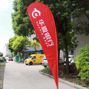 Heat Sublimation Printing Polyester Flying Banner Flag pictures & photos