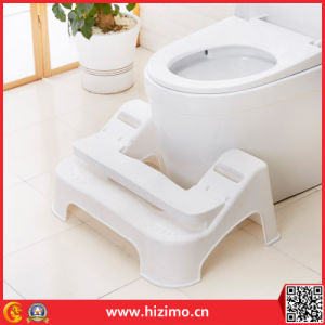 2017 Hot Sales Adjustable Plastic Toilet Footstool pictures & photos