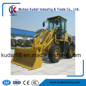 1.2tons 4WD Mini Front Wheel Loader (SWM618) pictures & photos