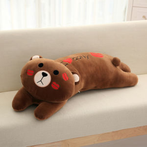 Plush Bear Soft Stuffed Korea Pillow Cushion with Embroidery pictures & photos