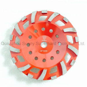 Sunny 4′′ 36# Diamond Abrasive Grinding Cup Wheel for Concrete pictures & photos