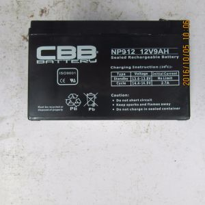 China AGM Bateria 12V9ah Deep Cycle Accumulator Battery Np9-12 pictures & photos