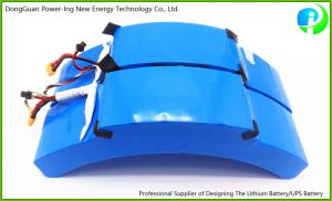 72V Rechargeable Li-ion Battery Packs for Electrical Self-Balancing Unicycle pictures & photos