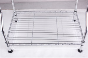 Patented Adjustable Chrome Metal Kitchen Dish Drying Rack, Plate Rack pictures & photos