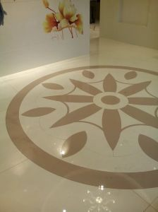 Nano Crystallized Glass Water Jet Parquet Indoor Decoration pictures & photos
