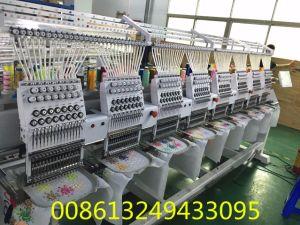 Wonyo 8 Head Cap Embroidery Machine with Tajima Software pictures & photos