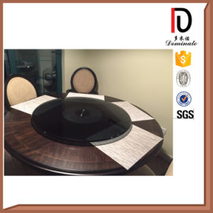 10 or 12 mm Clear Transparent Glass Hotel Round Glass Turn Plate (BR-BL036) pictures & photos