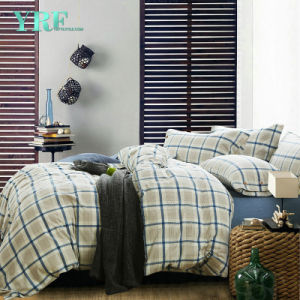 Woven Cheap Price Hotel Blue Comforter Set pictures & photos