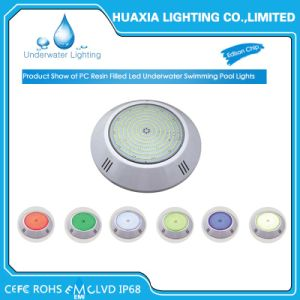 18W Multi Color Surface Mounted Resin Filled LED Swimming Pool Light pictures & photos