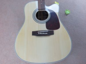 Hanhai Music/41′′ Acoustic Guitar with Cut-Away Body (D28) pictures & photos