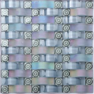 305X320mm Glass Mosaic Tile in Foshan (AJ318) pictures & photos