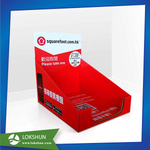Cardboard Corrugated Plastic Brochure/Literature Holder pictures & photos