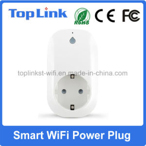 2017 Hot Selling EU Type WiFi Smart Power Switch Plug with Alexa for Electronic Device Remote Control pictures & photos