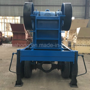 Primary Stong Crushing Mobile Jaw Crusher, Jaw Crusher Plant with Diesel Engine pictures & photos
