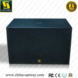 S8006 Dual 18 Inch 2500 Watt Powered Subwoofer PRO Audio pictures & photos
