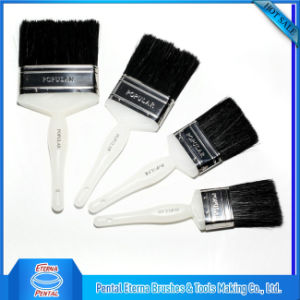 Black Bristle Plastic Handle Paint Brush pictures & photos
