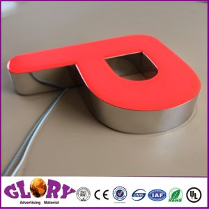 Brushed Ss Channel Letter Signboard and LED Sign pictures & photos