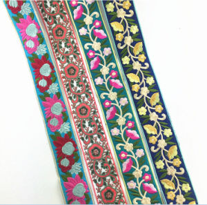 New Design Colorful Trimming Lace Tape for Clothes pictures & photos
