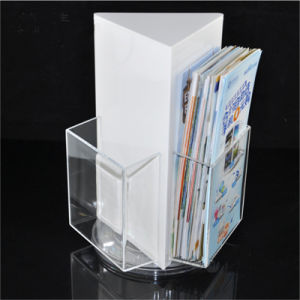 Clear Acrylic Book Display Stand pictures & photos