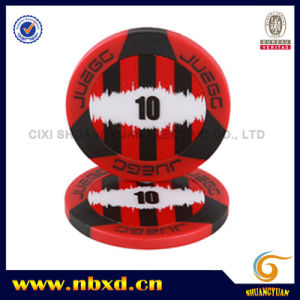 11.5g 2-Tone 3-Stripe Juego ABS Poker Chip pictures & photos